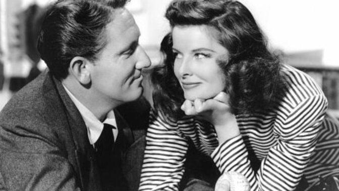 """Charismatická Katharine Hepburn a zadaný Spencer Tracy: Být """"tou druhou"""" byla pro herečku pocta"""