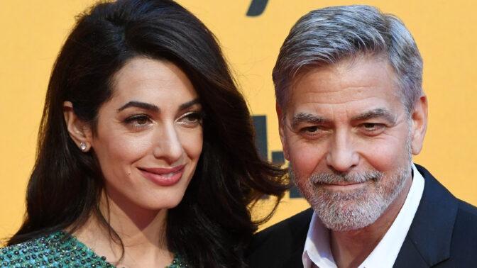 George Clooney a jeho Amal. Seznámil je společný přítel, na prvním rande je sledovalo 50 paparazzi