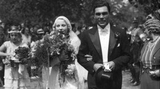 Thumbnail # Diva Anny Ondráková a boxer Max Schmeling: Ke sňatku dostali dar od Hitlera, Německo dvojici milovalo