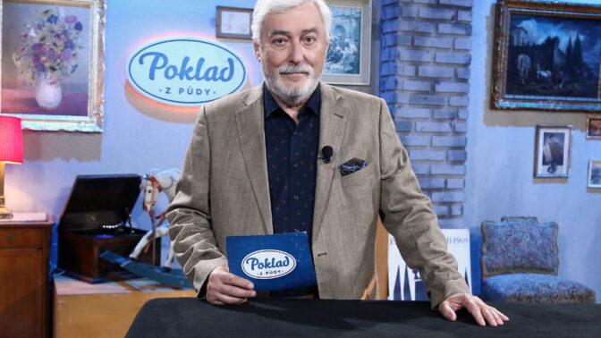 Poklad z půdy se vrací: Našli jsme i náhrdelník za miliony, vzpomíná moderátor Jan Rosák
