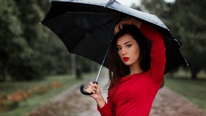 Velký průvodce deštníky: Který si vyberou milenci a který se vejde do kabelky?