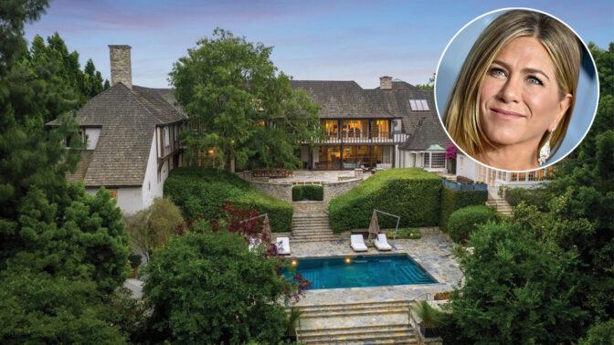 Jennifer Aniston prodává dům, ve kterém bydlela s Bradem Pittem. Za 32,5 milionu dolarů může být váš