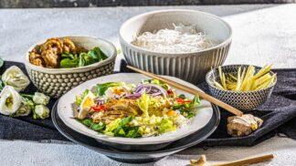 Kuře na sto způsobů: Vyzkoušejte kuřecí curry salát