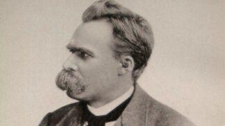 Friedrich Nietzsche: Ač věřící, prohlásil Boha za mrtvého. O jeho filozofii se opíral i samotný Hitler
