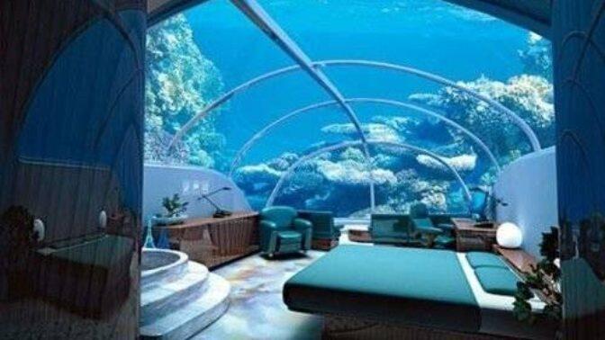 Říše snů pod vodou: Nejkrásnější hotely, které nabízejí nevšední pohled na mořské bohatství