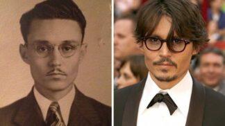 Cestování časem: Lidé na retro fotkách vypadají stejně jako dnešní celebrity