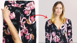 Ze starých legín sexy top a z džínů nadčasová mini. Těchto 5 položek šatníku rozhodně nevyhazujte!