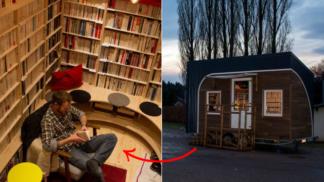 Francouzský knihomol cestuje a bydlí v knihovně. A dělá radost tam, kde chybí knihkupectví