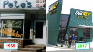 Tyto fotografie ukazují, jak se v průběhu času měnily naše oblíbené fast foody