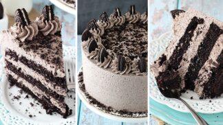 Luxusní Oreo dort může být na stole cobydup. Zabere jen chvilku a všechny ingredience máte doma!