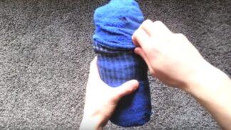 Jak dostat kompletní outfit do ponožek aneb skvělý trik pro balení zavazadel