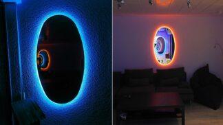 Tato magická zrcadla vytvoří portál do paralelního světa. Můžete si je snadno vyrobit doma