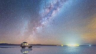 Ruský fotograf pořídil fantastické snímky Mléčné dráhy