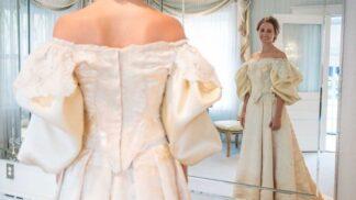 V této rodině se dědí svatební šaty přes 120 let. Současná nevěsta je jedenáctá v pořadí