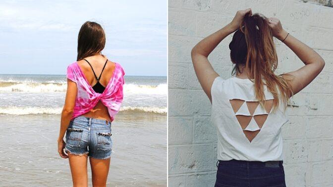 5 rychlých způsobů, jak proměnit obyčejné triko v módní záležitost