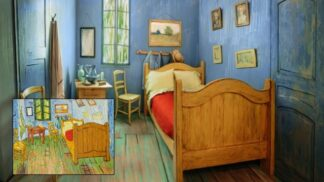 Van Goghova Ložnice v Arles oživla. Můžete v ní přespat už za 250 korun za noc