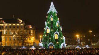 12 nejkouzelnějších vánočních stromů světa