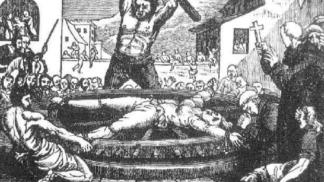 Mučicí praktiky středověku: Vaření v kotli, lámání kolen i vykuchání