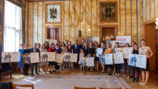 Primátor Hřib podpořil charitativní projekt Tesco
