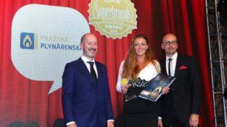 Ocenění pro Pražskou plynárenskou: Společnost opět získala ocenění Superbrands Business Award