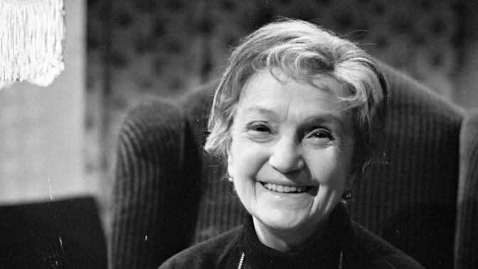 Legendární herečka Marie Rosůlková. Laskavá jeptiška, která manžela nahradila bratrem