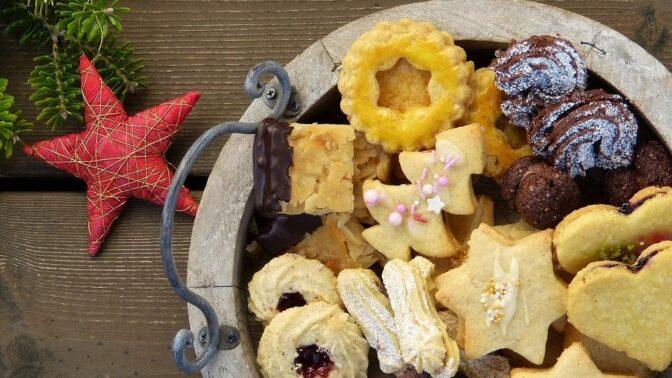 Ořechové vánoční cukroví. Pařížské tyčinky a další nejlepší recepty