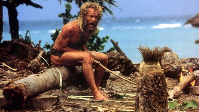 Trosečník: Tom Hanks jedl gumovou rybu a velmi nebezpečně si poranil nohu