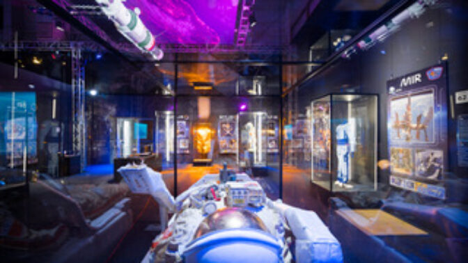 Vesmírná výprava může začít: největší putovní výstava kosmonautiky Cosmos Discovery bude k vidění v Praze