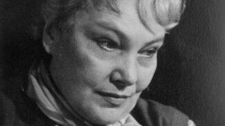 Žena vamp Jiřina Šejbalová. Svedla plejádu herců, manžel jí nevěry toleroval